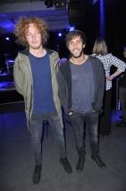 Michael Schulte & Max Giesinger bei der Napster Music Night